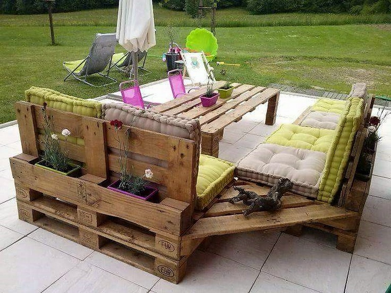 Repurposing Plans for Wooden Pallets