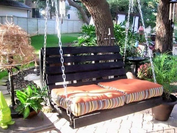 Breathtaking Ideas for Patio Swings