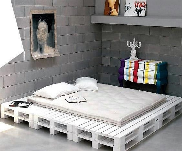 Cheap Home Furniture Ideas with Wooden Pallets