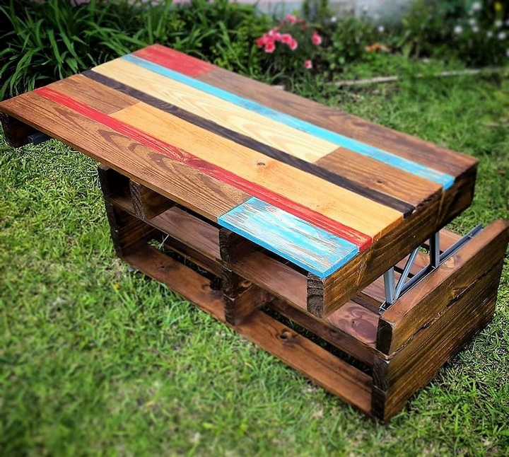 60 Creative Ideas for Wood Pallet Reusing