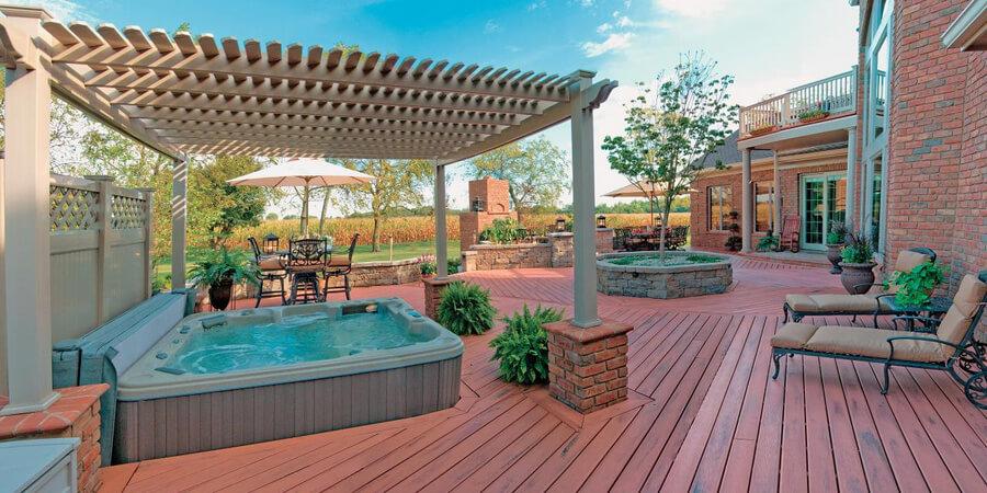 Pergola Shade Ideas Over the Pool - Inspirationalz