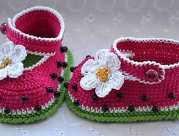 DIY Motive Ideas for Crochet Baby Booties