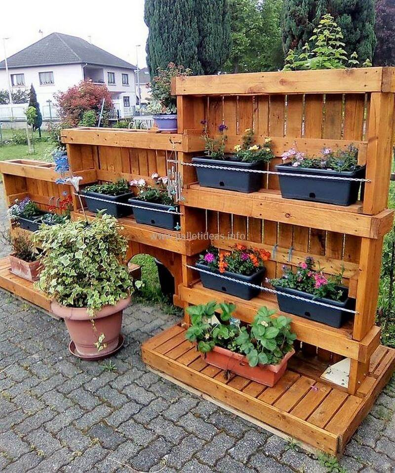 21 Most Unique Wood Home Decor Ideas: 60 Pallet Ideas For Garden And Outdoors