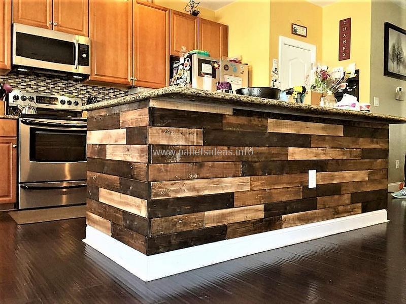 80 Ideas for Wood Pallet Made Kitchens | DIY Motive - Part 2