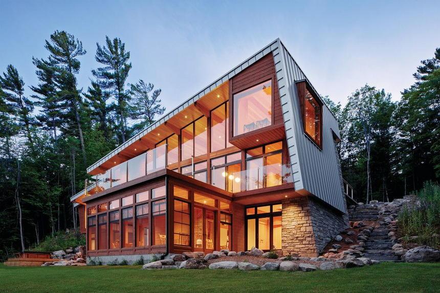 Contemporary Exterior Home Ideas 1