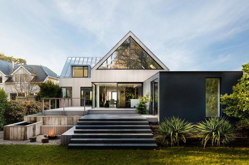 Contemporary Exterior Home Ideas 14