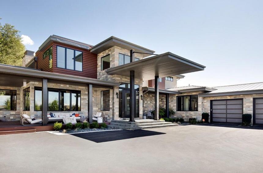 Contemporary Exterior Home Ideas 28