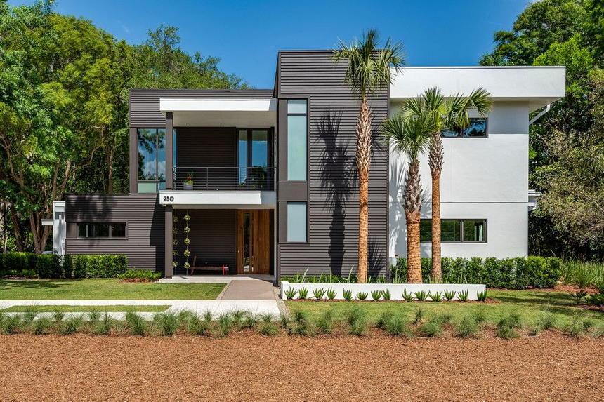 Contemporary Exterior Home Ideas 31