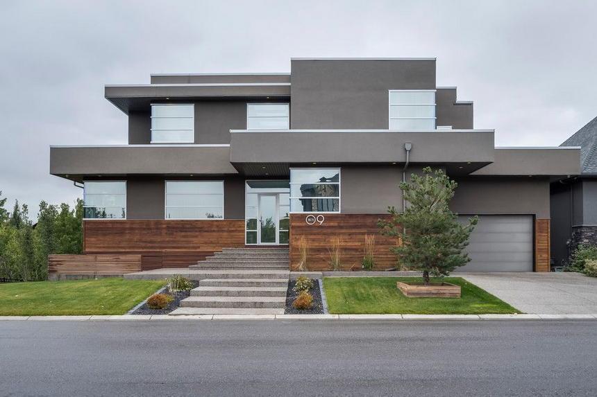 Contemporary Exterior Home Ideas 33