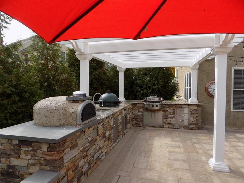 Outdoor Kitchen Design Ideas 23