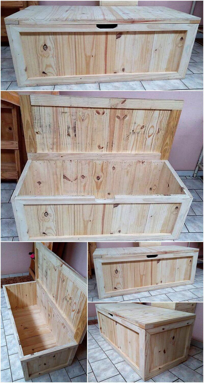 Wood Pallet Chest (107)
