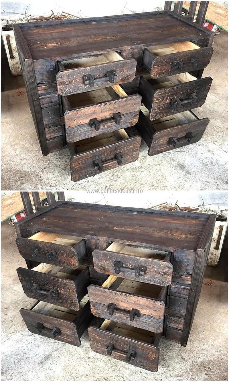 Wood Pallet Chest (60)