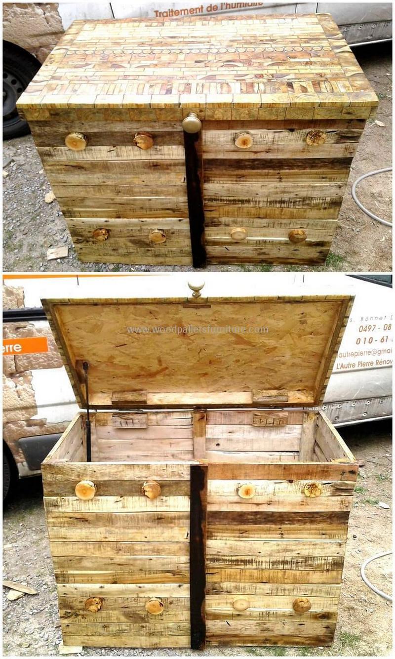 Wood Pallet Chest (69)