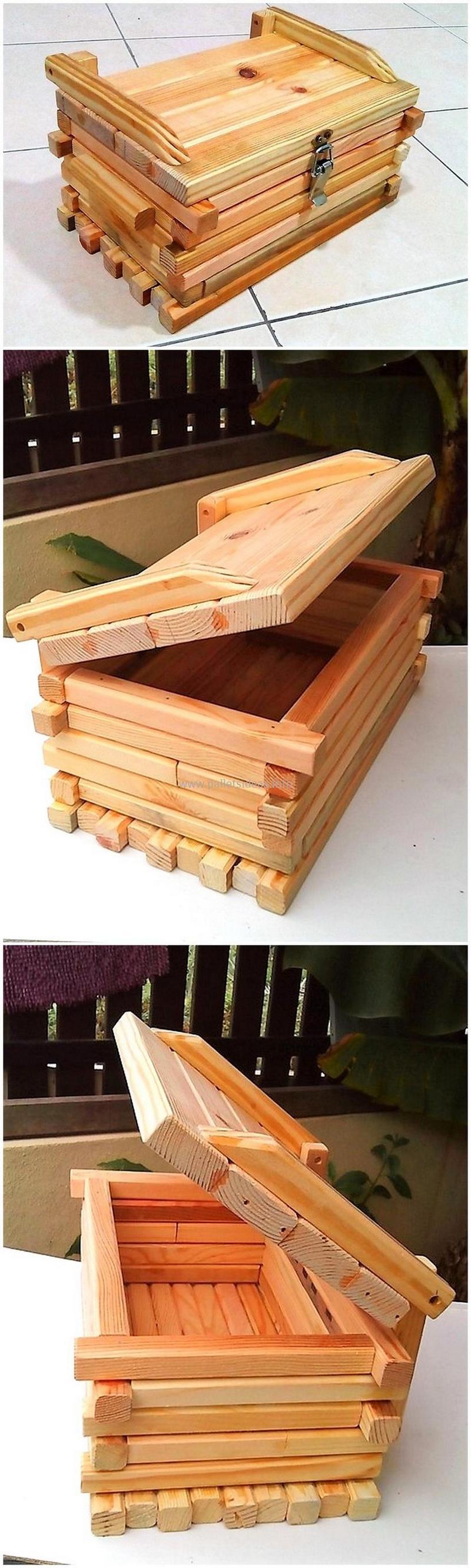 Wood Pallet Chest (7)