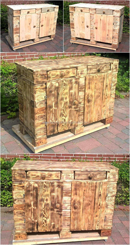 Wood Pallet Chest (98)