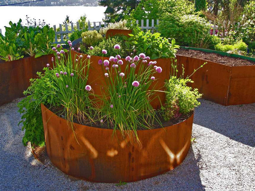 raised garden bed ideas 16