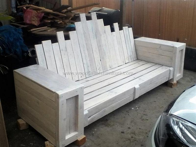 recycled pallet outdoor sofa and couch 88
