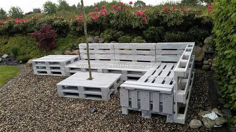 recycled pallet outdoor sofa and couch 90