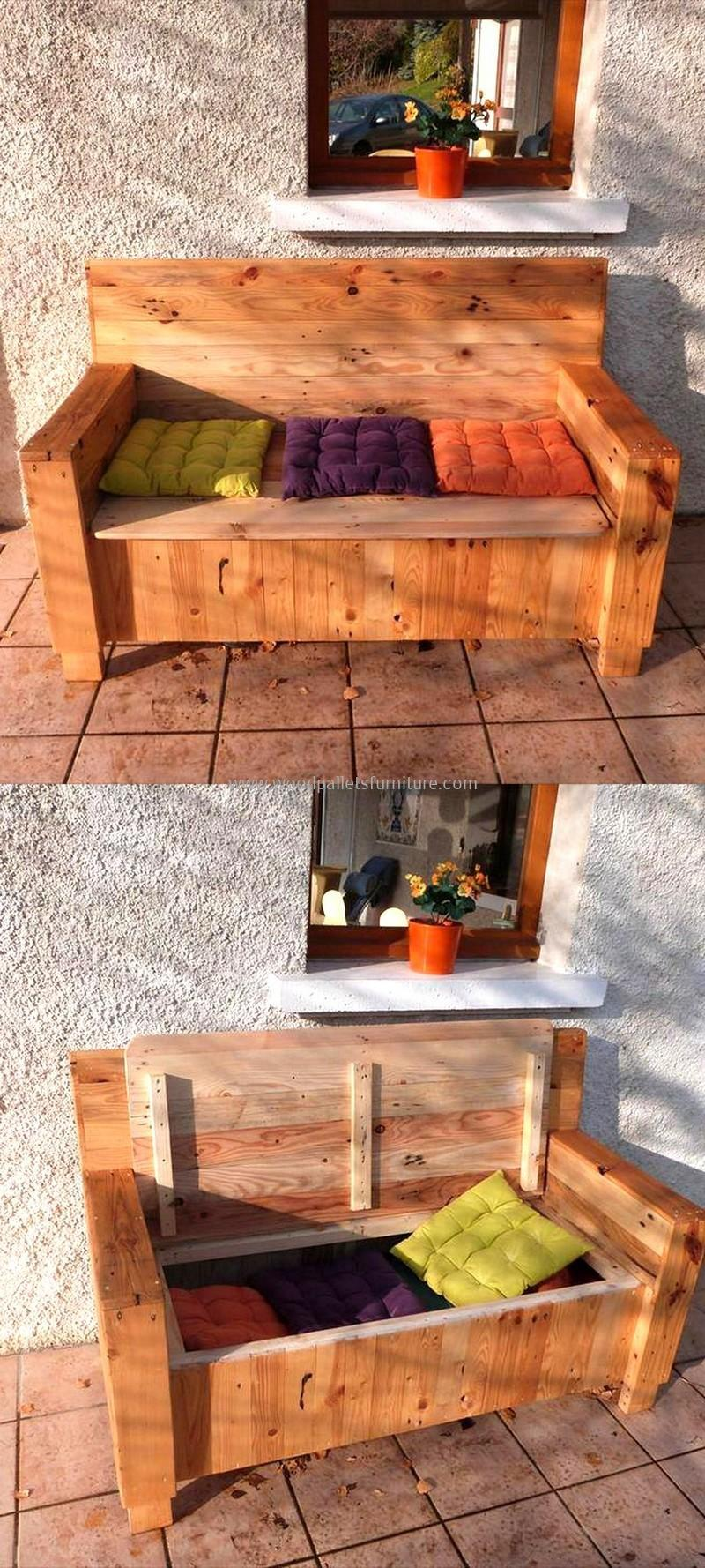 recycled pallet outdoor sofa and couch 96