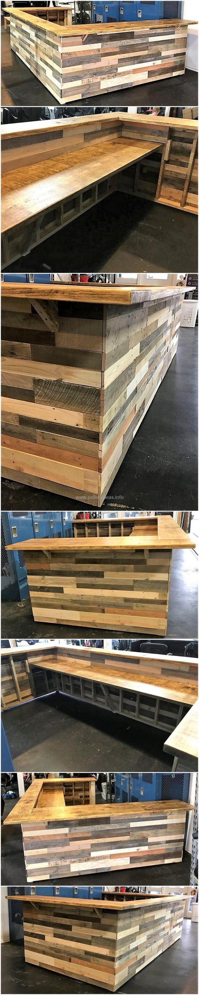 wood pallet bar plan 0
