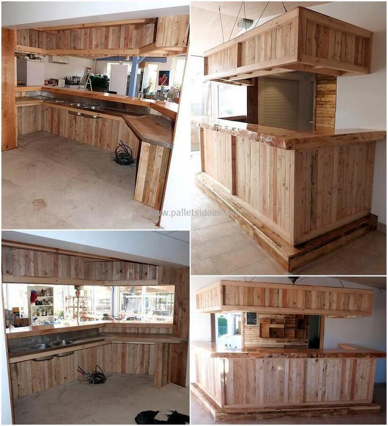wood pallet bar plan 1