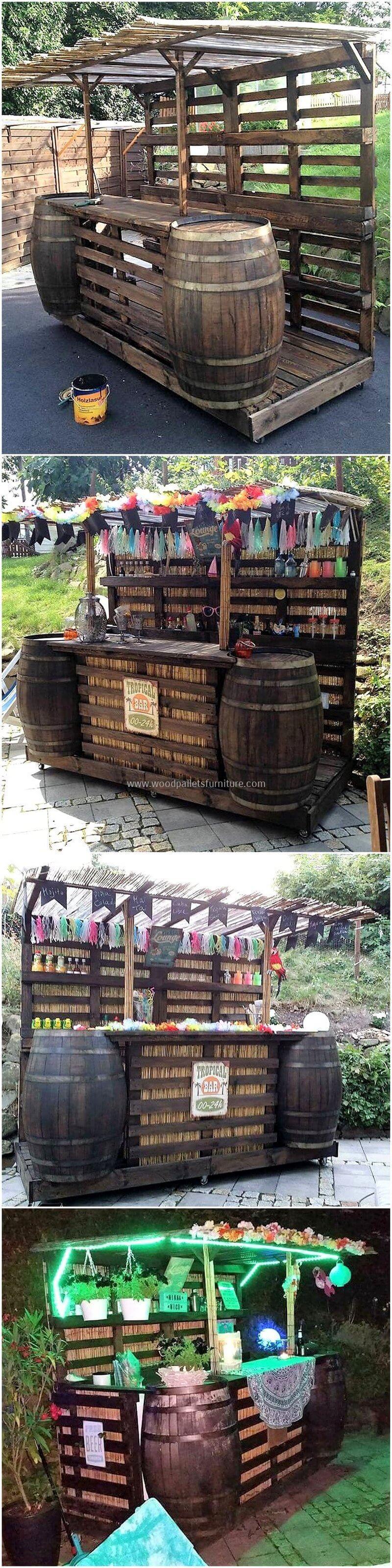 wood pallet bar plan 10