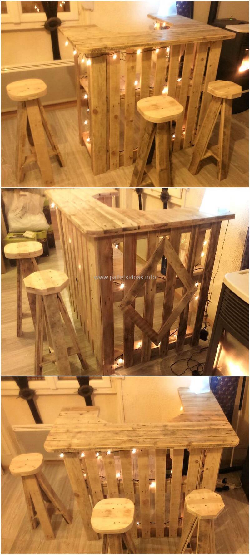 wood pallet bar plan 101