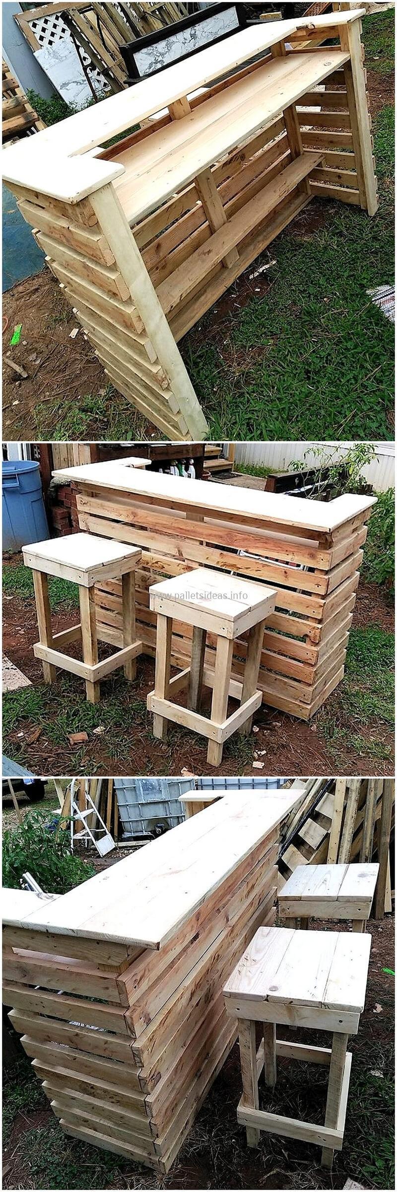 wood pallet bar plan 102