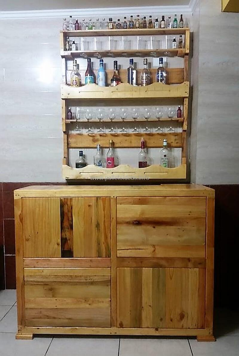wood pallet bar plan 103