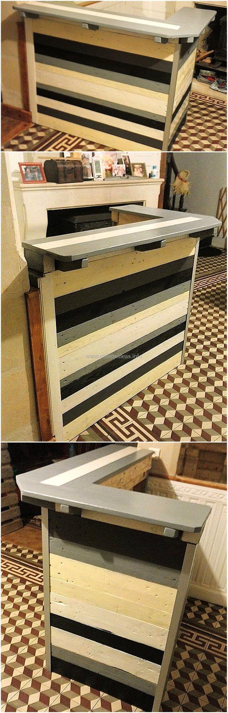 wood pallet bar plan 105
