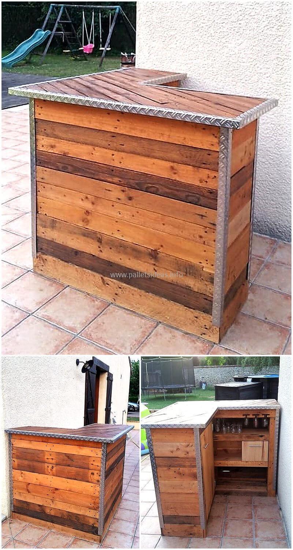 wood pallet bar plan 108