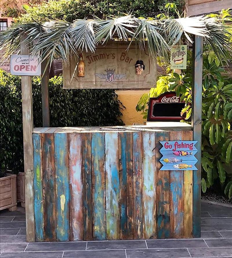 wood pallet bar plan 109
