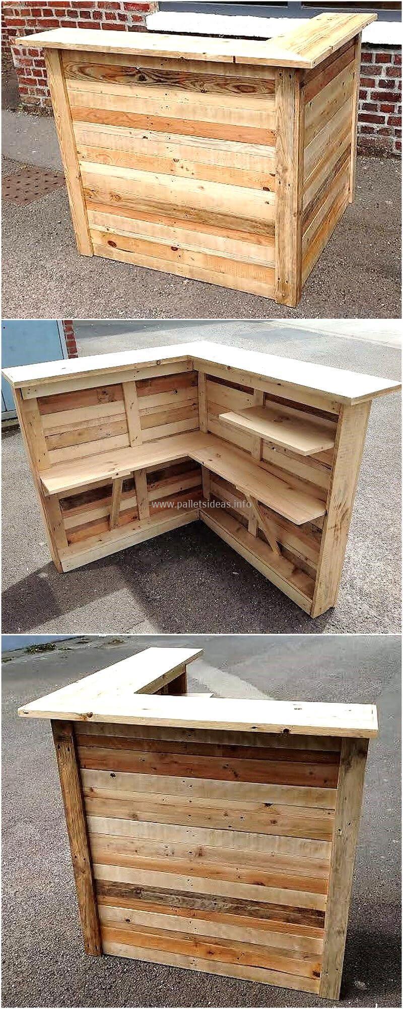 wood pallet bar plan 110