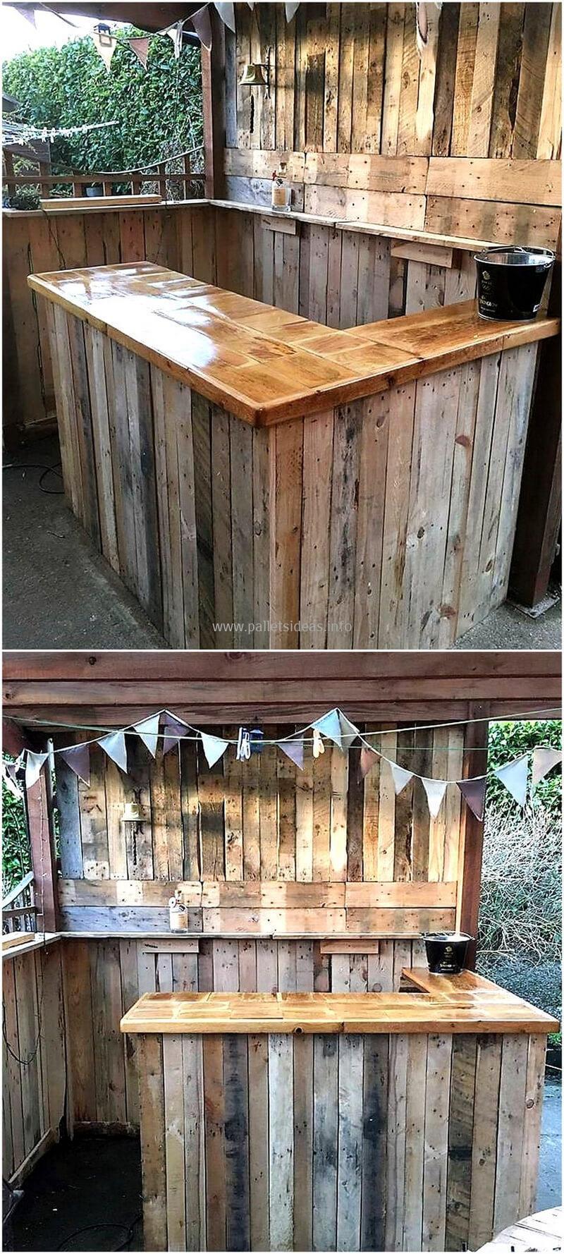 wood pallet bar plan 111