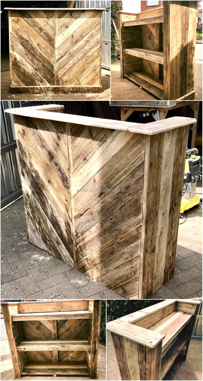 wood pallet bar plan 114