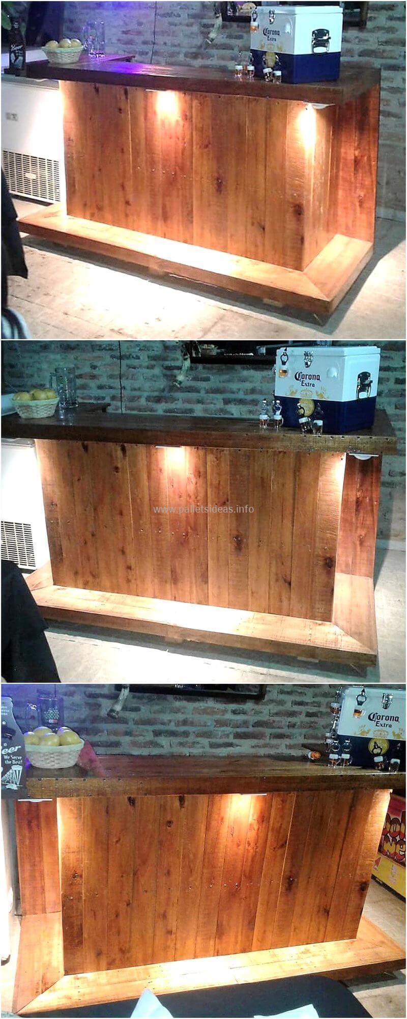 wood pallet bar plan 117