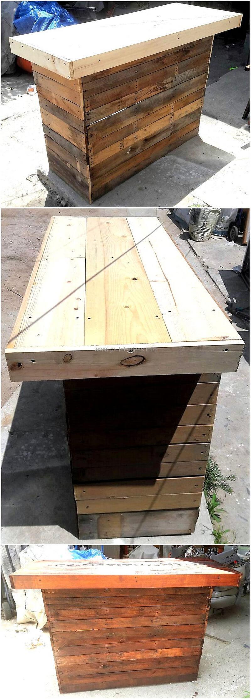 wood pallet bar plan 118