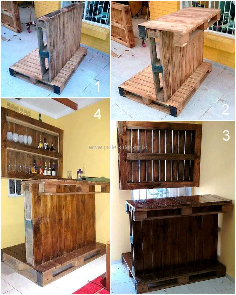 wood pallet bar plan 119