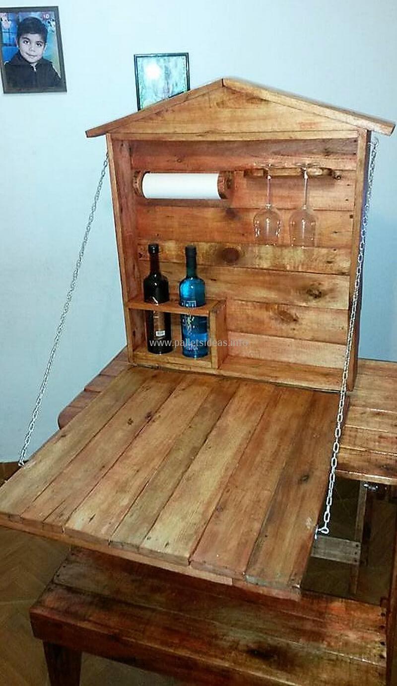 wood pallet bar plan 120