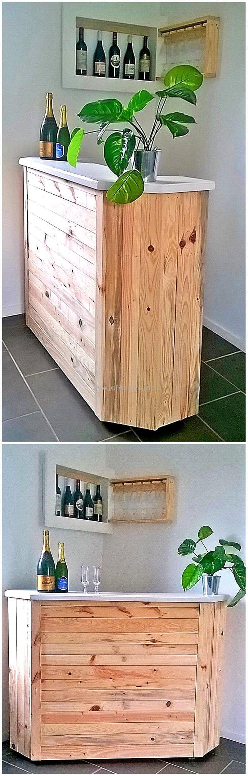 wood pallet bar plan 121