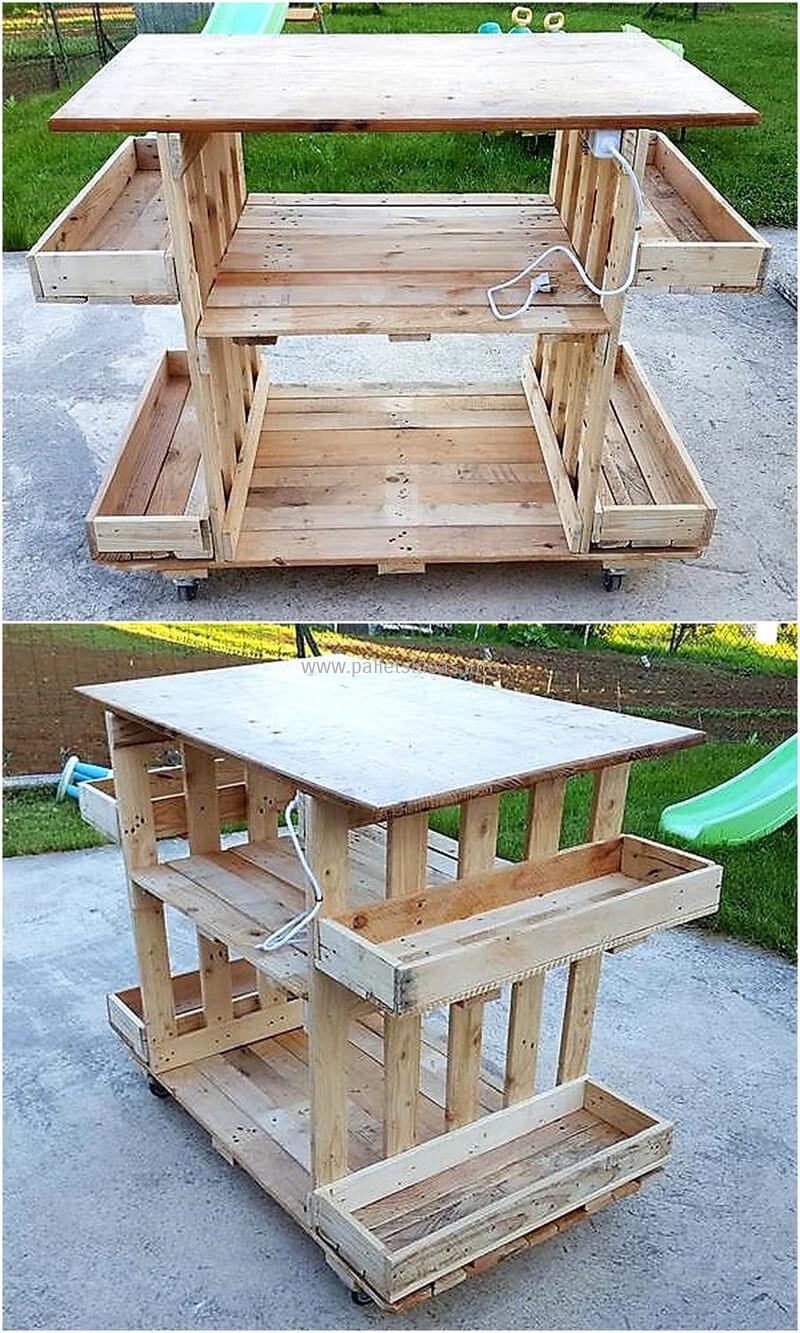 wood pallet bar plan 124