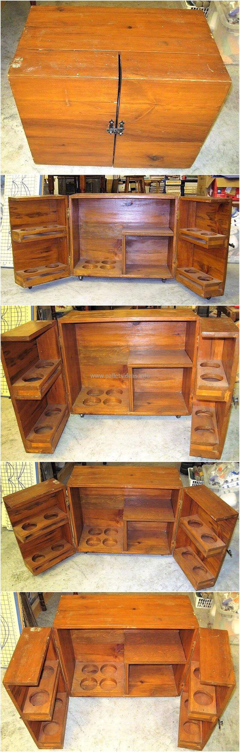 wood pallet bar plan 125