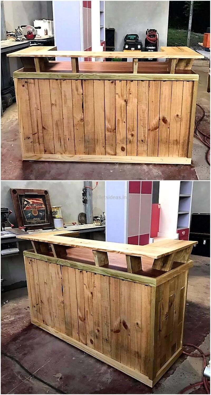 wood pallet bar plan 130