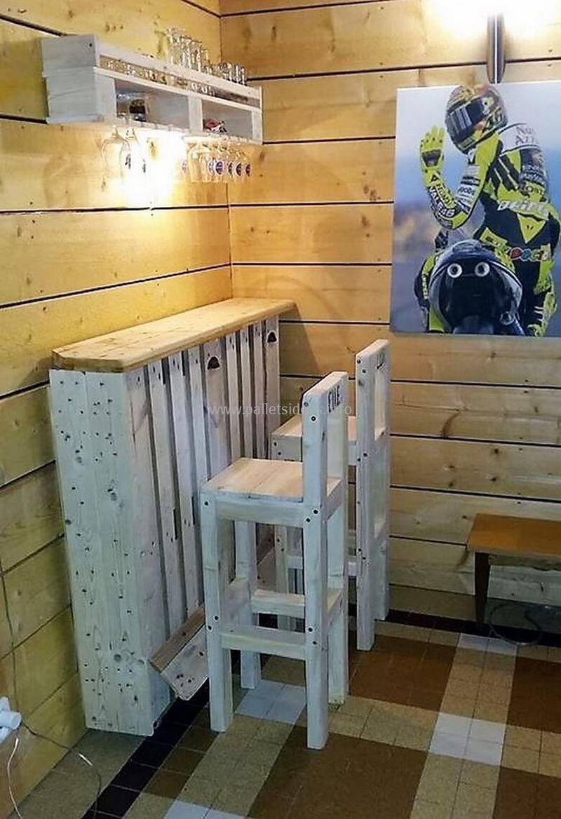 wood pallet bar plan 131