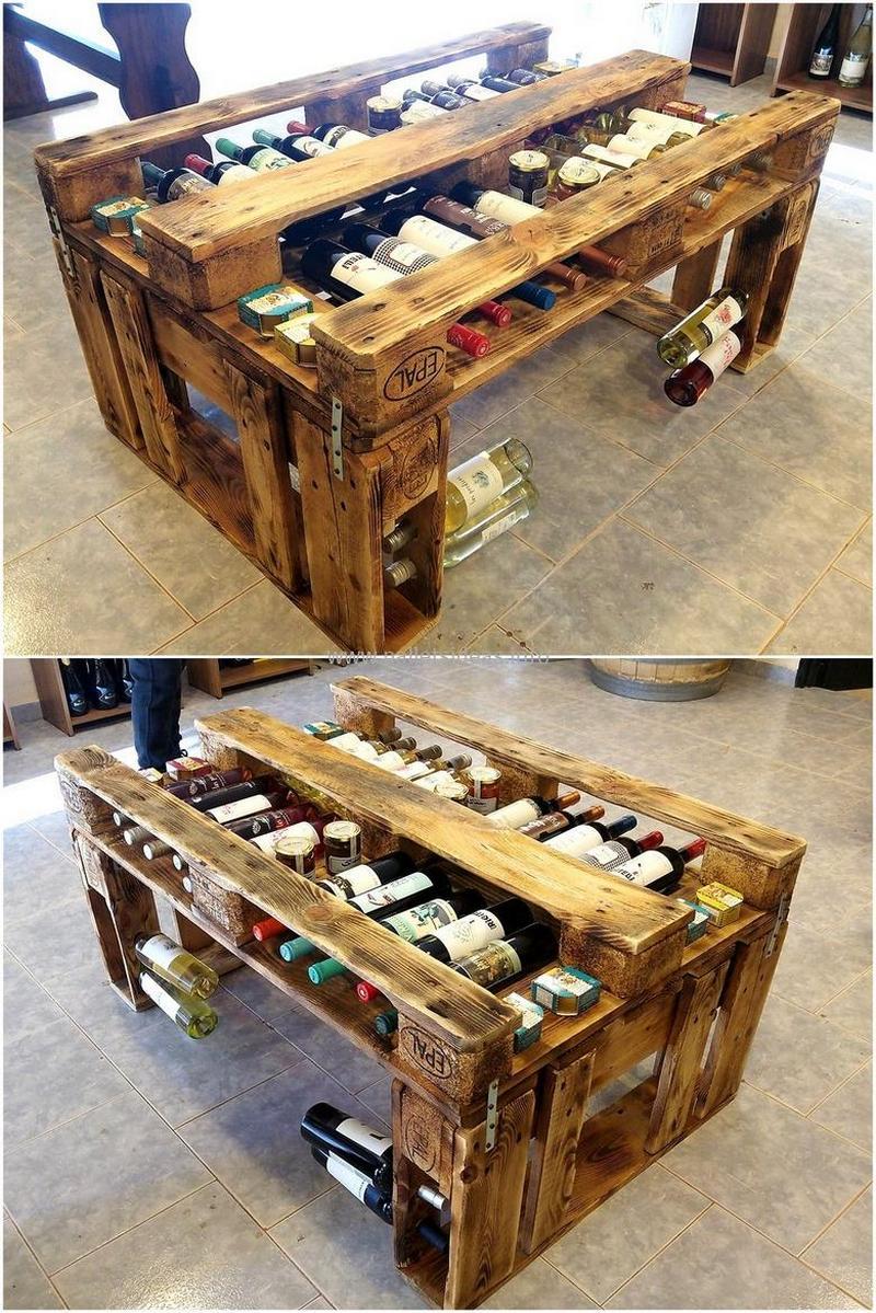 wood pallet bar plan 133