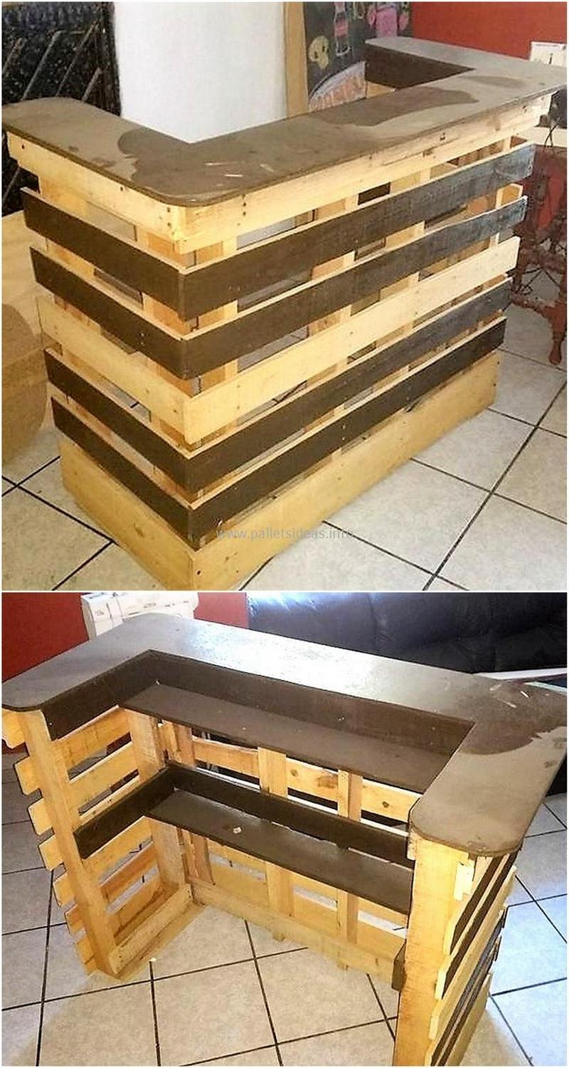 wood pallet bar plan 134