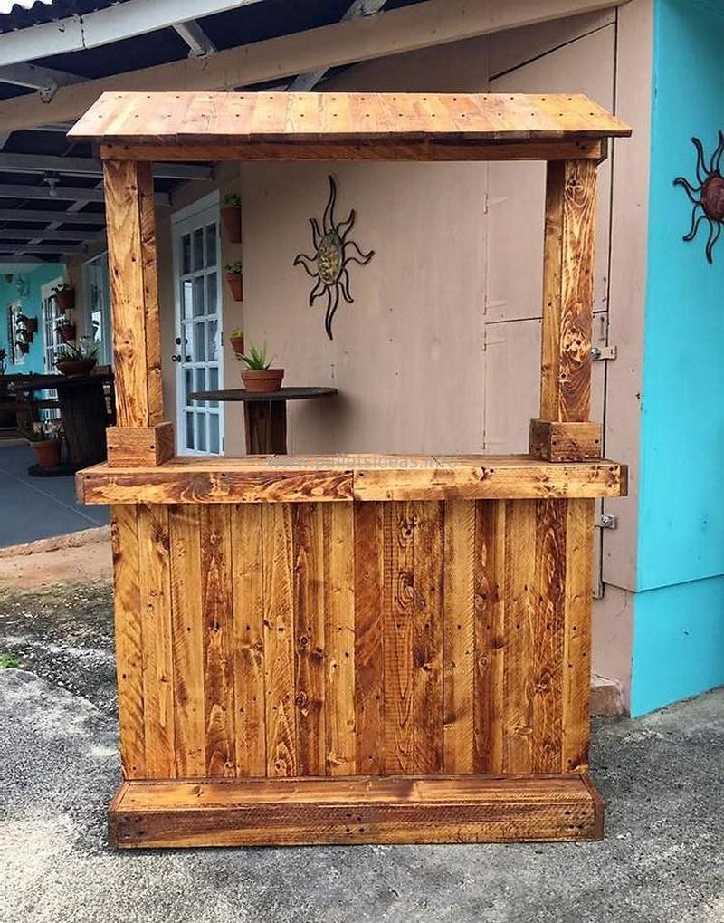 wood pallet bar plan 136