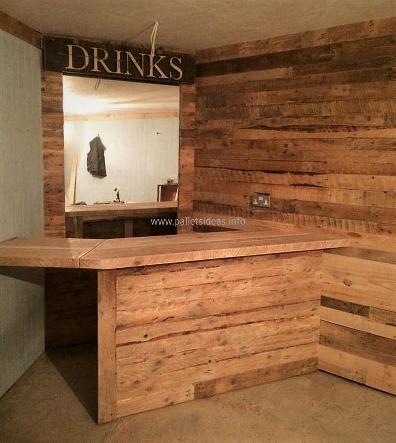 wood pallet bar plan 138