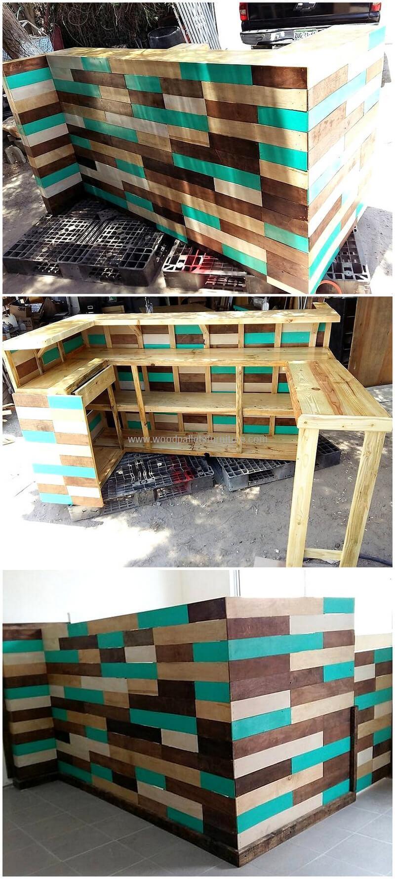 wood pallet bar plan 14