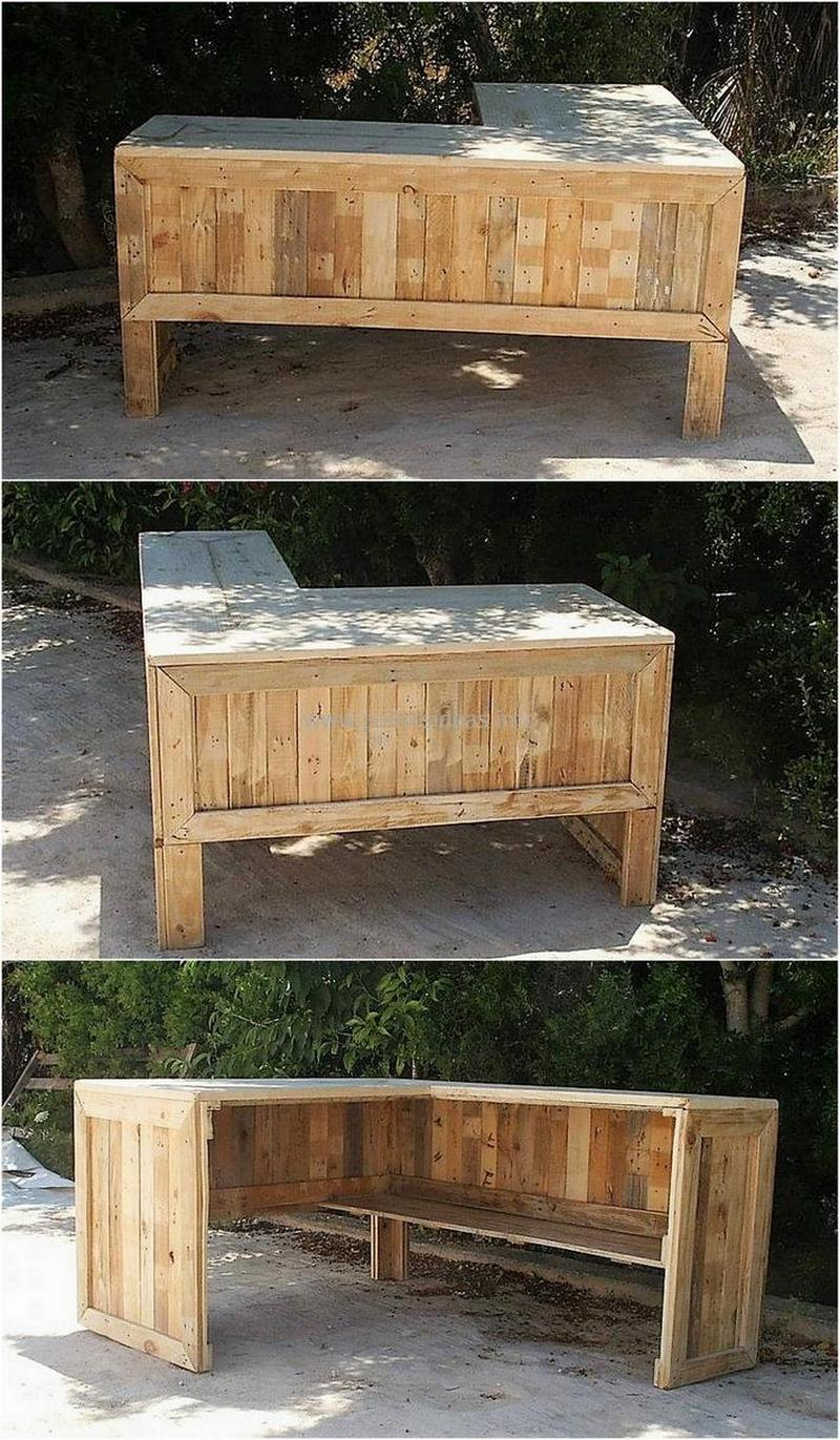 wood pallet bar plan 140